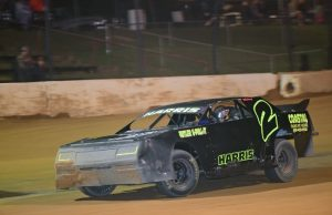 Branden Harris of Molino, FL will be looking to climb upward in the Top 10 of the NeSmith/AR Bodies Street Stock Division point standings driving the #2 Coastal Engine and Machine Chevrolet in Week 3 action this weekend.  (NeSmith Media Photo)
