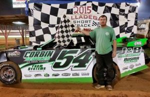 Clint Vaughn of Odenville, AL drove the #54 Vaughn Racing Chevrolet powered by a $3,495 Chevrolet Performance 602 Circle Track Engine to the win on Saturday night at Talladega Short Track in Eastaboga, AL.  The win, along with a top ten finish in Week 1 NeSmith/AR Bodies Street Stock Division action, brought Vaughn's point total up to 92 points and the fourth spot in the points.  (Talladega Short Track Photo)