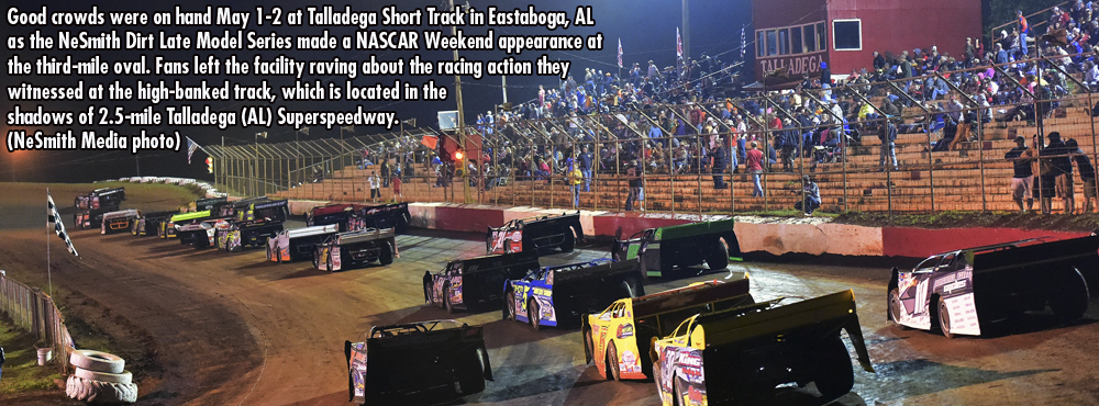 talladega crowd