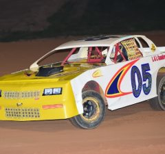 Bo Bailey of Milton, FL scored a 40-point win on Saturday night in the #05 L&L Construction Services Chevrolet at Southern Raceway in Milton, FL.  Bailey's best point effort of Week 13 was a 47-point fourth-place effort on Friday night at Northwest Florida Speedway in Baker, FL.  Bailey is fifth in the NeSmith/AR Bodies Street Stock Division standings with 493 points after two wins and 11 top five finishes in 12 races over 11 weeks of competition.  (NeSmith Media Photo)
