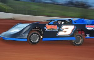 Cody Smith of Holt, FL drove the Smith's Performance Rocket to his fifth NeSmith Chevrolet Weekly Racing Series win of the season on May 13 at Hattiesburg Speedway in Hattiesburg, MS.  The win moved Smith up to the sixth spot in the National point standings with a Weekly Point Average of 49.83 out of a possible 50.  In six races, Smith has five wins and a second-place finish.  (Photo by Phil)
