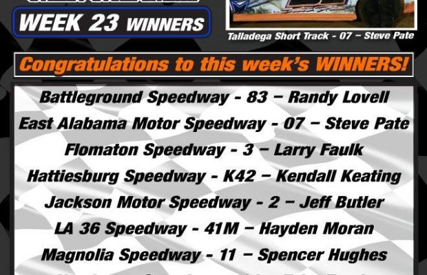 NeSMITH PERFORMANCE PARTS STREET STOCK DIVISION WEEK 23 ROUND UP