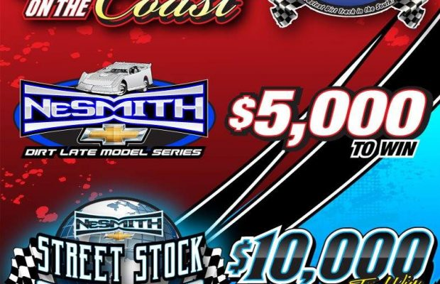 SHOWDOWN ON THE COAST FOR NESMITH LATE MODELS AND STREET STOCK WORLD CHAMPIONSHIP UP NEXT