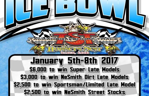NeSMITH RACING TO ONCE AGAIN OFFICIATE TALLADEGA'S ICE BOWL